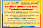 LMETB Further Education & Training Options Information Stands