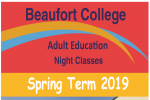 Adult Education Night Classes Spring 2019