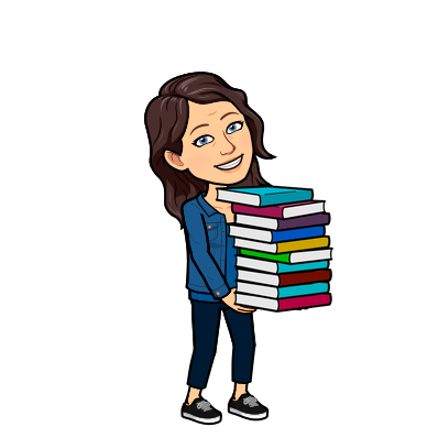 Bitemoji carrying books